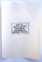 occupy; 99%