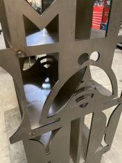 Pollinator Sculpture: weld details